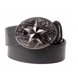 Men Five Pointed Star Belt Knife Belt P30