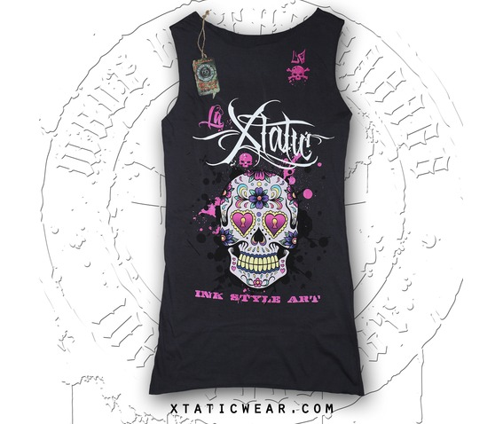 la_xtatic_long_top_sugar_skull_grey_shirts_5.jpg
