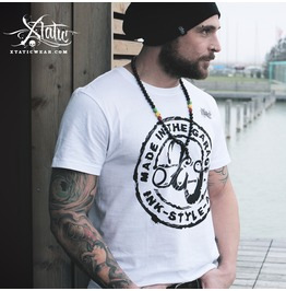 Xtatic Wear Made Garage White Tee