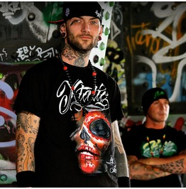 Xtatic Wear Red Muerta Art Tee