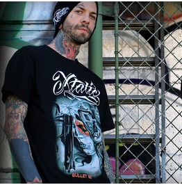 Xtatic Wear Bullet Bg Art Tee