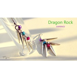 Tym Dragon Rock Earrings