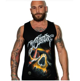 Xtatic Wear Skull Art Tank Top