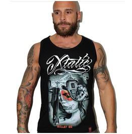Xtatic Wear Bullet Bg Art Tank Top