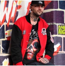 Xtatic Wear Varsity Jacket Red
