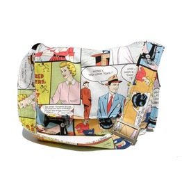 Comic Strip Messenger Bag