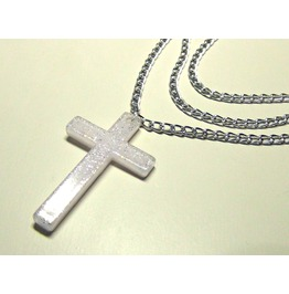 Tym Cross Pendant | White Queen