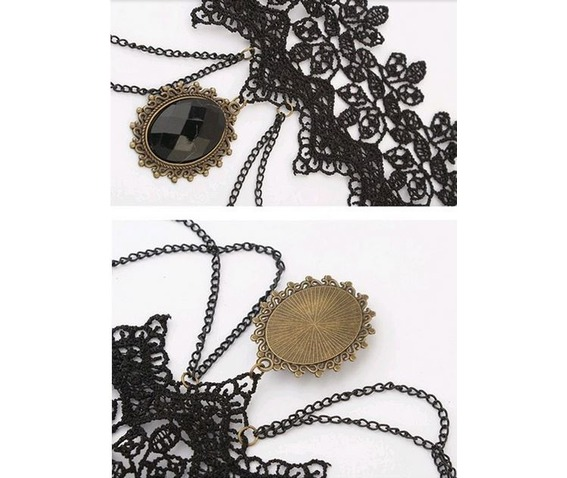 gothic_black_lace_choker_with_hanging_black_gem_adjustable_chain_necklaces_2.JPG