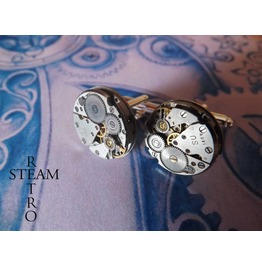 Mens Steampunk Cufflinks 18mm Cufflinks Wedding Cufflinks Cufflinks Groomsman Gifts