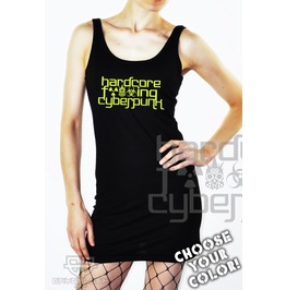 Cryoflesh Hardcore Fucking Cyberpunk Cyber Goth Industrial Rave Dress