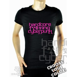 Cryoflesh Hardcore Fucking Cyberpunk Cyber Industrial Gothic Shirt Fem