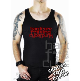 Cryoflesh Hardcore Fucking Cyberpunk Goth Cyber Industrial Tank Top Shirt