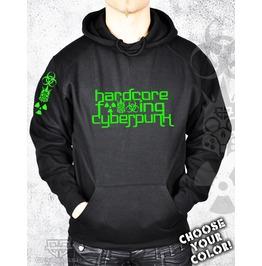 Cryoflesh Hardcore Fucking Cyberpunk Punk Cyber Industrial Unisex Hoodie