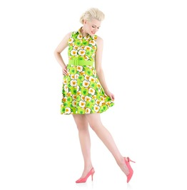 Voodoo Vixen Flower Power Party Dress