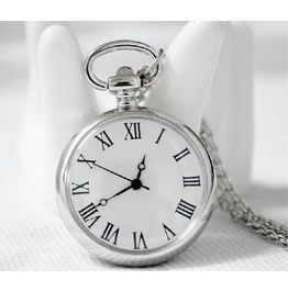 Vintage Roman Numerals Pocket Watch Ver. 7