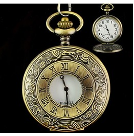 Vintage Roman Numerals Pocket Watch Ver. 11