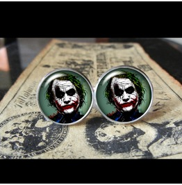 "Joker ""I'm Monster..."" Cuff Links Men, Weddings,Grooms, Groomsmen,Gifts,Dads,Graduations"