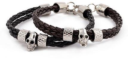 double_braided_leather_stainless_steel_skull_bracelet_bracelets_4.JPG