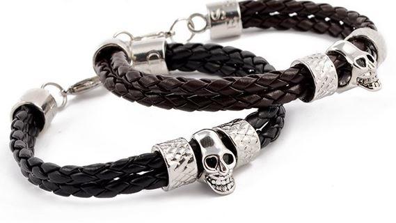 double_braided_leather_stainless_steel_skull_bracelet_bracelets_3.JPG