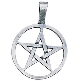 Pendant Ringed Pentagram Pendant Willpower & Success