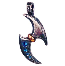 Pendant Spinning Glaive Pendant