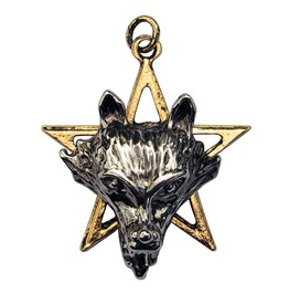 Pendant Night Wolf Power & Wisdom