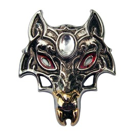 Pendant Masque Wolf Supernatural Powers