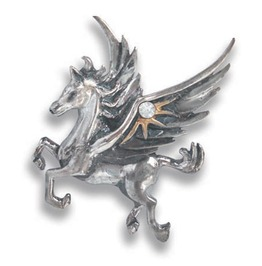 Pendant Pegasus Stars Quick Thought & Creativity Anne Stok