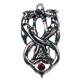 Pendant Dragons Wyrd Mystical Energy