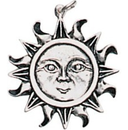 Pendant Sun Pendant Health, Wealth, & Happiness