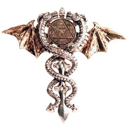 Pendant Sacred Dragon Amulet, Physical & Psychic Protection