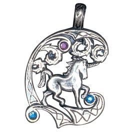 Pendant Unicorn, Protection Healing