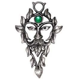 Pendant Green Man Natural Magic