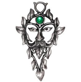 Pendant Green Man Natural Magic
