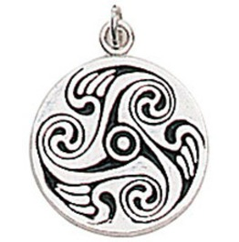 Pendant Circle Brighid Charm Creative Talent & Self Confidence