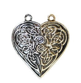 Pendant Tristan & Iseult Love Token Pair Love & Friendship