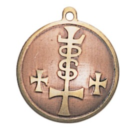 Pendant Charm Strength, Power, & Riches