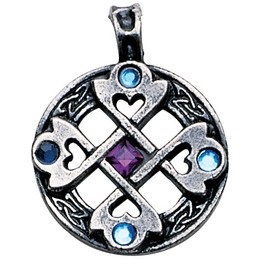 Pendant Celtic Cross Heart Pendant True & Happy Friendship