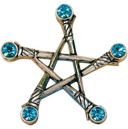 Pendant Pentagram Swords