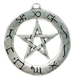 Pendant Planetary Pentagram Success Working Spells