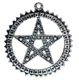 Pendant Pagani Pentagram Increasing Psychic Ability