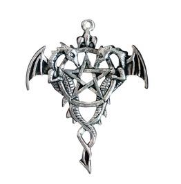 Pendant Draco Pentagram Discovering True
