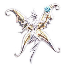 Pendant Bright Vanina Kari Butterfly Fairy Anne Stokes Safety Tr
