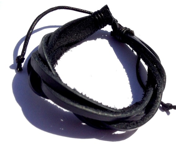awesome_handcrafted_black_entwined_leather_wristband_adjustable_bracelets_2.jpg