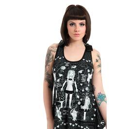 Jawbreaker Lost Wonderland Tank Top Mini Dress