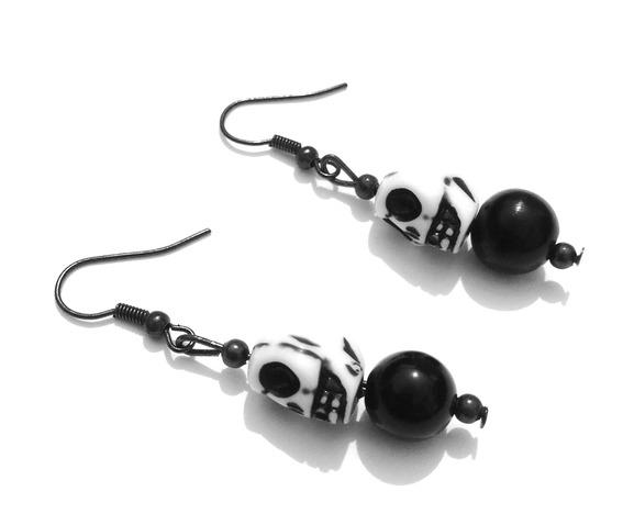 awesome_handcrafted_designer_white_skull_head_design_earrings_with_black_bead_earrings_2.jpg