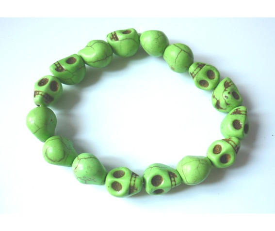 summer_tribal_green_anise_skulls_unisex_bracelet_necklaces_5.JPG