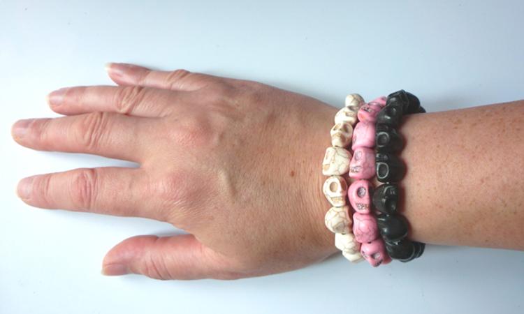 summer_tribal_black_skulls_unisex_bracelet_bracelets_2.JPG