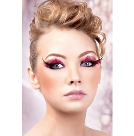 Eyelashes Baci Baby Pink Feather Eyelashes Be632