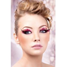 Eyelashes Baci Baby Pink Feather Eyelashes Be632